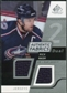 2008/09 Upper Deck SP Game Used Dual Authentic Fabrics #AFRN Rick Nash