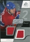 2008/09 Upper Deck SP Game Used Dual Authentic Fabrics #AFRY Michael Ryder