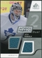 2008/09 Upper Deck SP Game Used Dual Authentic Fabrics #AFVT Vesa Toskala