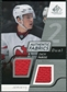 2008/09 Upper Deck SP Game Used Dual Authentic Fabrics #AFZP Zach Parise