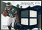 2008 Upper Deck Exquisite Collection Super Swatch Blue #SSDJ DeSean Jackson 7/20