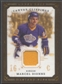 2008/09 UD Masterpieces #CCMD Marcel Dionne Canvas Clippings Brown Jersey