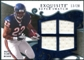2008 Upper Deck Exquisite Collection Super Swatch Blue #SSMT Matt Forte /20