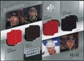 2008/09 Upper Deck SP Game Used Authentic Fabrics Quads #MLRM Modano Turco Ribeiro Lehtinen /10