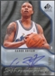 2009/10 SP Game Used #SCR Caron Butler SIGnificance Auto #48/99