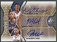2009/10 SP Game Used #MTMWS Mario West Josh McRoberts Walter Sharpe Auto #15/50