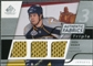 2008/09 Upper Deck SP Game Used Triple Authentic Fabrics #3AFSW Shea Weber