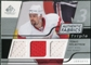 2008/09 Upper Deck SP Game Used Triple Authentic Fabrics #3AFTH Tomas Holmstrom