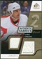2008/09 Upper Deck SP Game Used Dual Authentic Fabrics Gold #AFCC Chris Chelios /50
