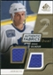 2008/09 Upper Deck SP Game Used Dual Authentic Fabrics Gold #AFDB Doug Gilmour /50