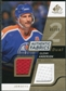 2008/09 Upper Deck SP Game Used Dual Authentic Fabrics Gold #AFGA Glenn Anderson /50