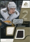 2008/09 Upper Deck SP Game Used Dual Authentic Fabrics Gold #AFMA Maxim Afinogenov /50