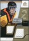 2008/09 Upper Deck SP Game Used Dual Authentic Fabrics Gold #AFRB Richard Brodeur /50