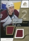2008/09 Upper Deck SP Game Used Dual Authentic Fabrics Gold #AFRS Ryan Smyth /50