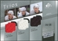 2008/09 Upper Deck SP Game Used Authentic Fabrics Trios #LPG Nicklas Lidstrom Dion Phaneuf Sergei Gonchar /25