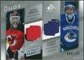 2008/09 Upper Deck SP Game Used Authentic Fabrics Duos #BL Martin Brodeur Roberto Luongo /100
