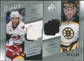 2008/09 Upper Deck SP Game Used Authentic Fabrics Duos #CT Erik Cole Tim Thomas /100