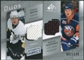 2008/09 Upper Deck SP Game Used Authentic Fabrics Duos #DM Evgeni Malkin Ruslan Fedotenko /100