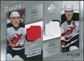 2008/09 Upper Deck SP Game Used Authentic Fabrics Duos #GP Zach Parise Brian Gionta /100