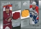 2008/09 Upper Deck SP Game Used Authentic Fabrics Duos #JH Shane Doan Olli Jokinen /100
