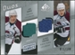 2008/09 Upper Deck SP Game Used Authentic Fabrics Duos #MJ Joe Sakic Marek Svatos /100