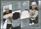 2008/09 Upper Deck SP Game Used Authentic Fabrics Duos #PB Phil Kessel Patrice Bergeron /100