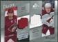 2008/09 Upper Deck SP Game Used Authentic Fabrics Duos #SM Shane Doan Peter Mueller /100