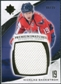 2010/11 Upper Deck Ultimate Collection Premium Swatches #PNB Nicklas Backstrom /35