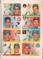 Sports Illustrated April 18, 1955 Al Rosen Cleveland Indians w/ Topps Cards