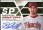 2008 Upper Deck SPx Superstar Signatures #BW Brandon Webb Autograph