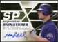 2008 Upper Deck SPx Superstar Signatures #MH Matt Holliday Autograph