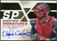 2008 Upper Deck SPx Superstar Signatures #VM Victor Martinez Autograph