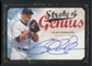 2008 Upper Deck UD Masterpieces Stroke of Genius Signatures #GP Glen Perkins Autograph