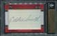 2011 Leaf Ink Cuts Beantown Heroes Eddie Smith 1/1 Cut Autograph