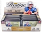 2012 Panini Prestige Football Hobby 12-Box Case