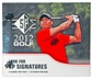 2012 Upper Deck SP Golf Retail 24-Pack Box