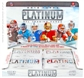 2012 Topps Platinum Football Hobby 12-Box Case