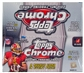 2012 Topps Chrome Football Retail 24-Pack Box - WILSON & LUCK ROOKIES!