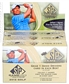 2012 Upper Deck SP Game Used Golf Hobby Box