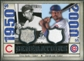2008 Upper Deck SP Legendary Cuts Generations Dual Memorabilia #BL Ernie Banks Derrek Lee