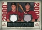 2008 Upper Deck SP Legendary Cuts Generations Dual Memorabilia #BP Lance Berkman Hunter Pence
