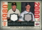 2008 Upper Deck SP Legendary Cuts Generations Dual Memorabilia #CM Will Clark Justin Morneau