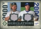 2008 Upper Deck SP Legendary Cuts Generations Dual Memorabilia #PM Mike Piazza Russell Martin