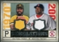 2008 Upper Deck SP Legendary Cuts Generations Dual Memorabilia #PO Dave Parker David Ortiz