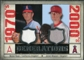 2008 Upper Deck SP Legendary Cuts Generations Dual Memorabilia #RW Nolan Ryan Jered Weaver