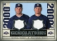 2008 Upper Deck SP Legendary Cuts Generations Dual Memorabilia #SG Ben Sheets Yovani Gallardo