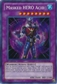 Yu-Gi-Oh Limited Edition Tin Single Masked HERO Acid Secret Rare