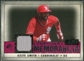 2008 Upper Deck SP Legendary Cuts Legendary Memorabilia Red Parallel #OS Ozzie Smith /35