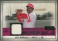 2008 Upper Deck SP Legendary Cuts Legendary Memorabilia Red Parallel #JM Joe Morgan /35