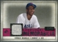 2008 Upper Deck SP Legendary Cuts Legendary Memorabilia Red Parallel #EB Ernie Banks /35